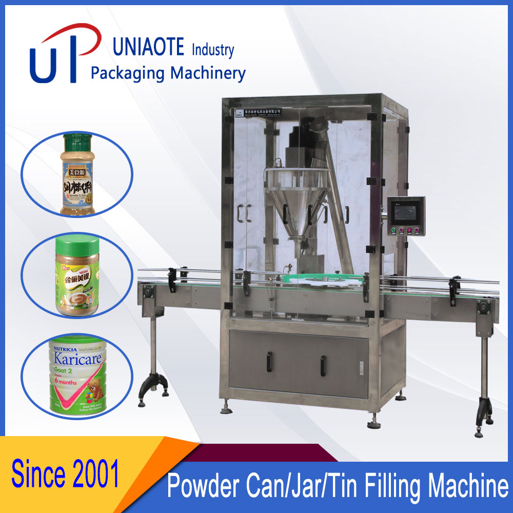 Canned Automatic Powder Filling Machine Configuration List
