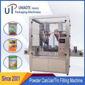 High Precision Powder Weighing Filling Machine