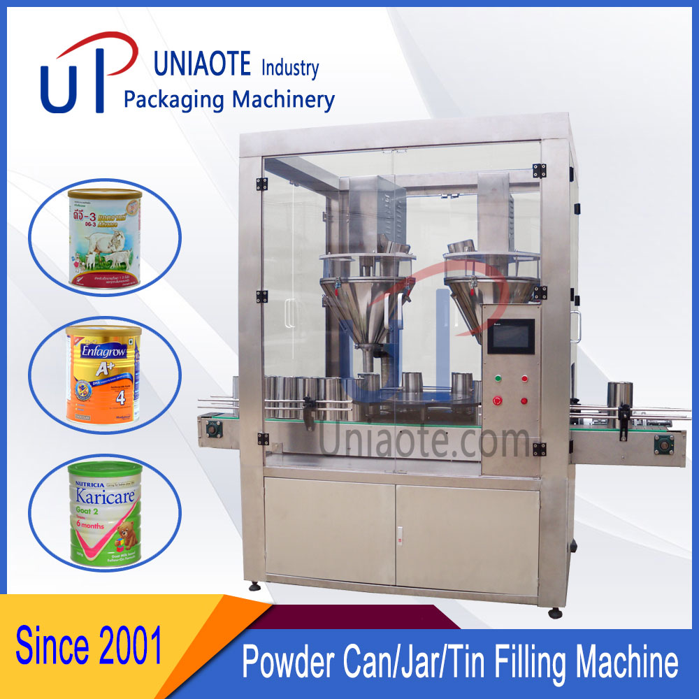 High Accuracy Automatic Powder Filling Machine Configuration List