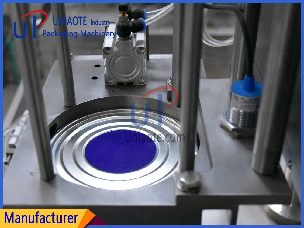 Automatic Vacuum Infill Nitrogen Seamer Machine Photos