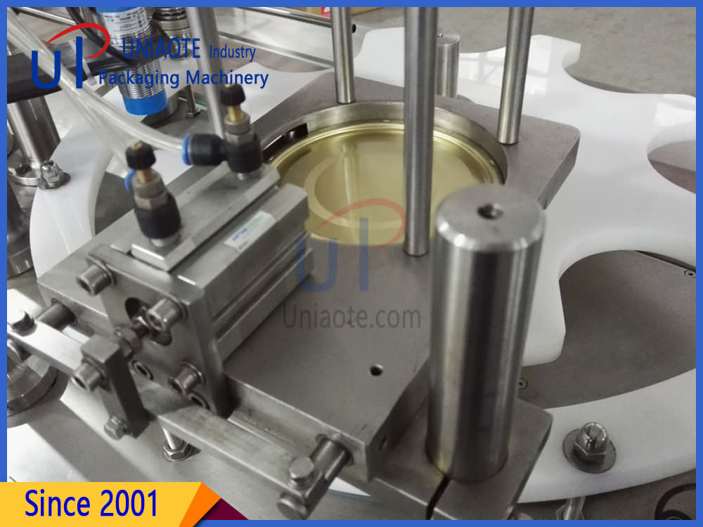 The Detials Pictures of Fully Automatic Can Seamer Seaming Machine