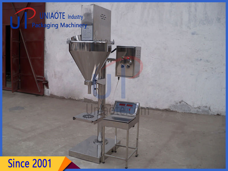 Semi Automatic Auger Powder Filler Filling Machine Details Images