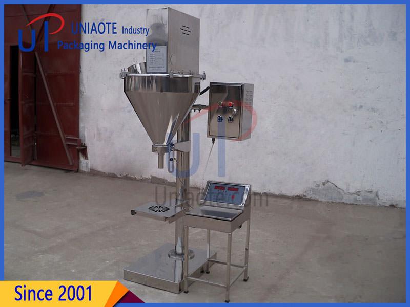 Semi Automatic Auger Powder Filler Filling Machine Details Images