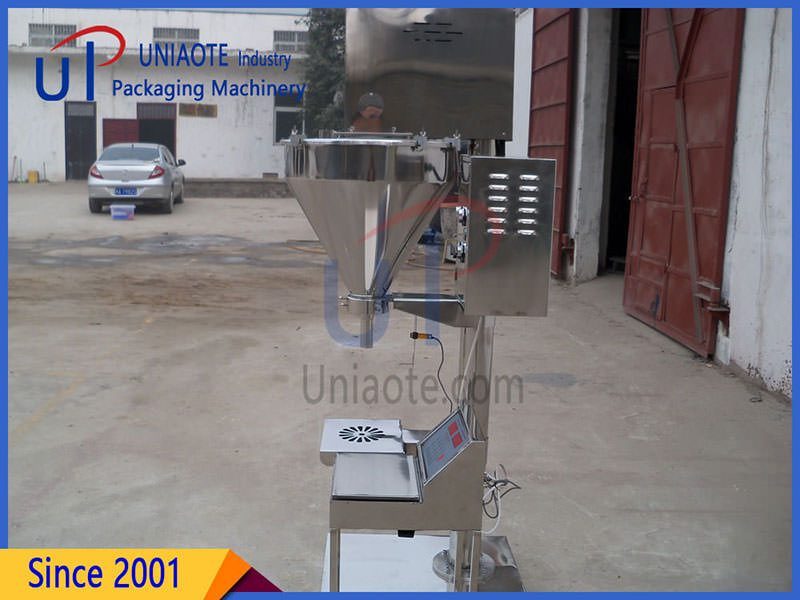 Semi Automatic Auger Powder Filling Machine Details Images