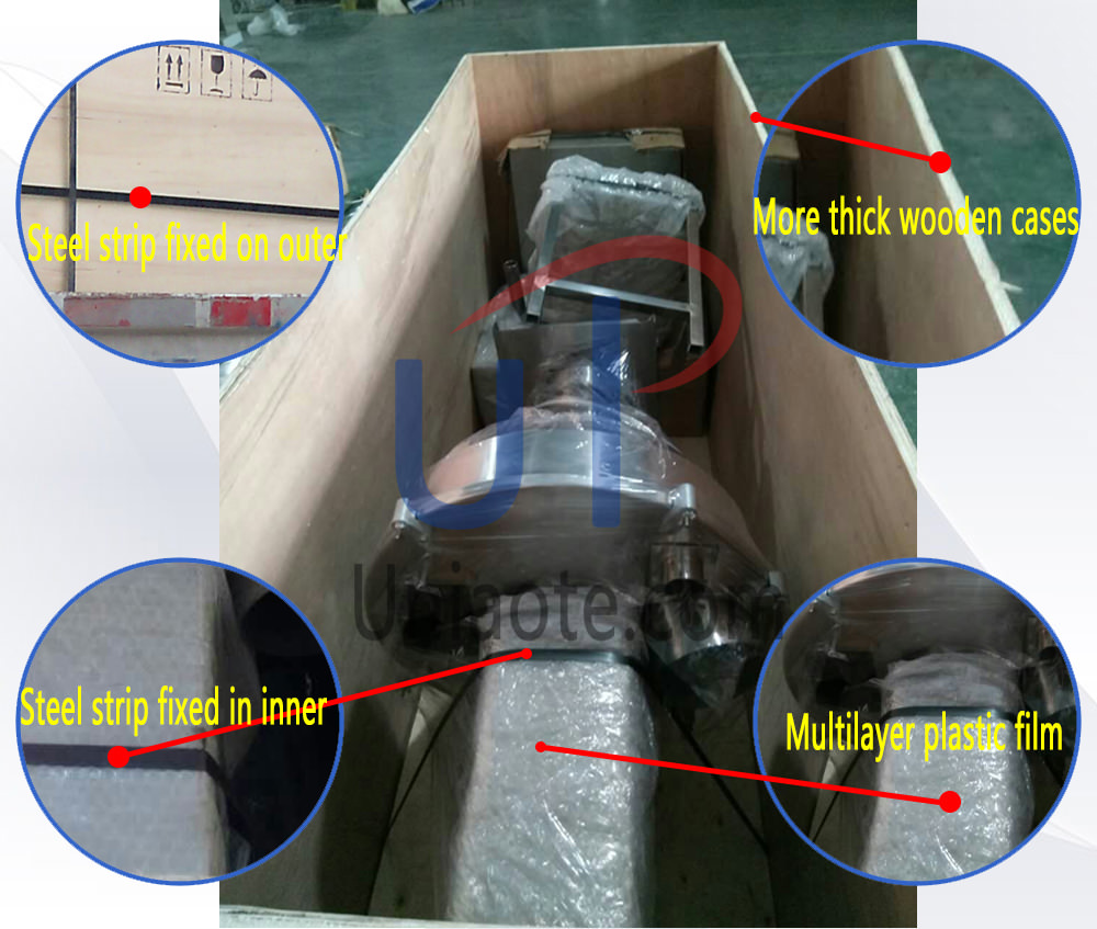 The Details Picture of Auger Powder Filler Packaging in Wooden Box