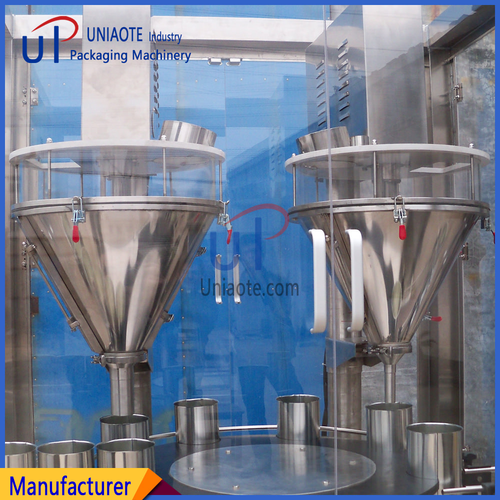 Double Auger Filler Automatic Powder Filling Machine