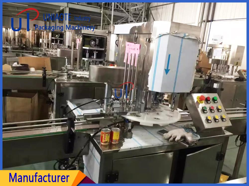 Edible Oil Cans Seamer Seaming Machine