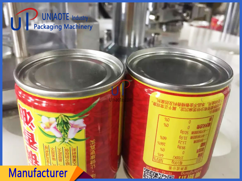 The Seamed Sample of Edible Oil Cans